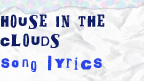 House in the clouds song lyrics