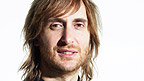 DJ David Guetta's face.