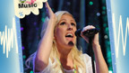 Ellie Goulding sings on stage 2012