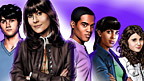 Drawing of Sarah Jane, Luke, Rani, Clyde and Sky