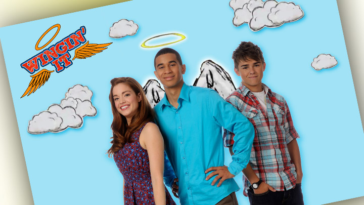 Winging it poster with Carl, Jane and Porter.