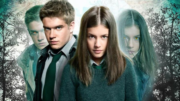 A picture of Maddy and Rydian from Wolfblood.
