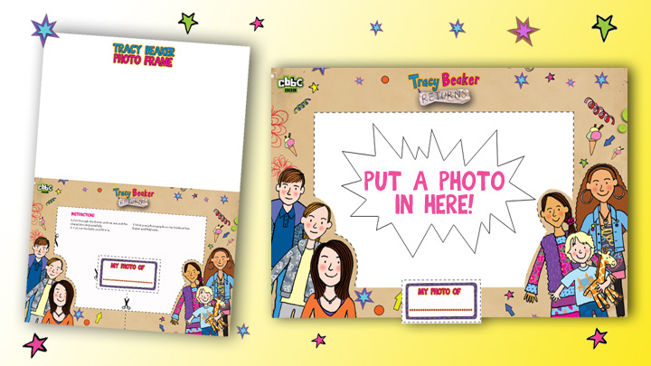 Tracy Beaker Photo Frame.