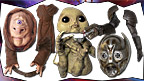 Body parts of Skullion, Slitheen and Metalkind