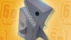 Deadly shark treat box made.