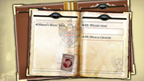 Merlin Wizard Book paper printout.