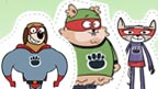 Pet Squad Paper Pals print set.