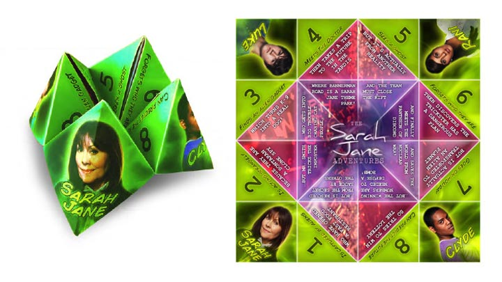 Sarah Jane Adventures Paper Storyteller