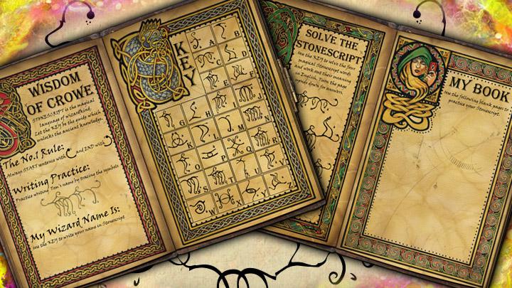 Wizard's Magic Book