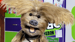 Dodge in the CBBC Office.