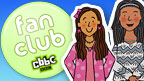 The 'CBBC Fan Club' sticker.