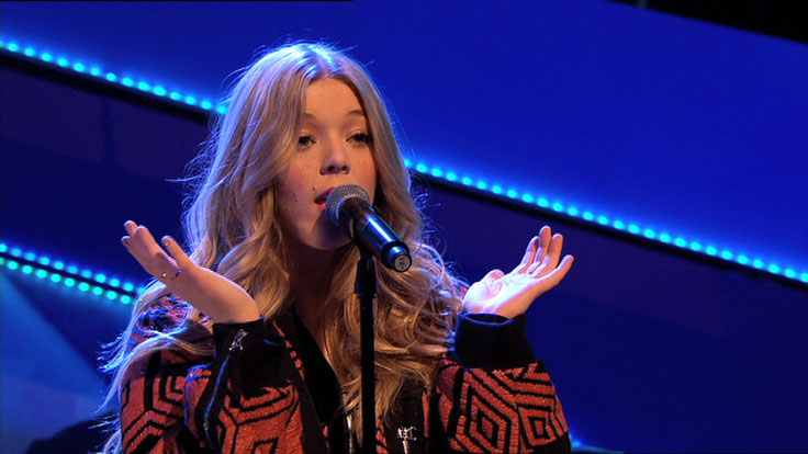 Becky Hill on Friday Download.