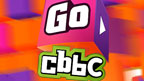 Go CBBC logo on a cube background.