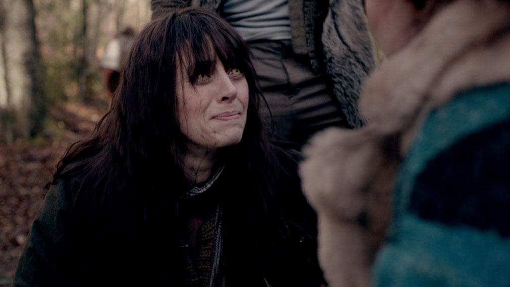 Ceri crying to Jana.
