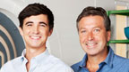 Donal Skehan and John Torode from Junior MasterChef.