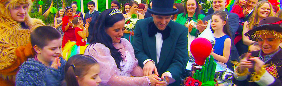 Wonderful Wizard of Oz themed wedding