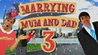 Ed Petrie and the Marrying Mum and Dad logo.
