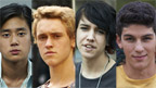 The four Nowhere Boys.