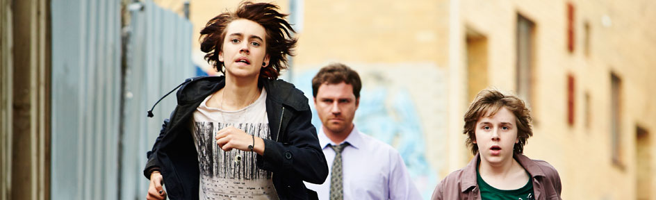 Andy from Nowhere Boys.