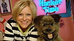 Sue Barker with Hacker.