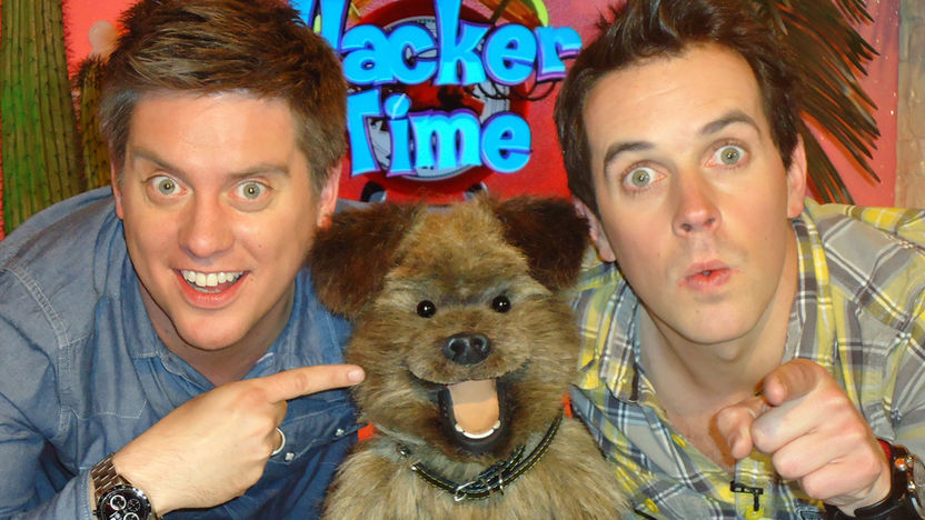 Dick and Dom with Hacker.