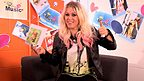 X Factor Star Amelia Lily looking at camera while playing CBBC Music Silly or Serious Question