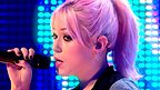 Amelia Lily singing.