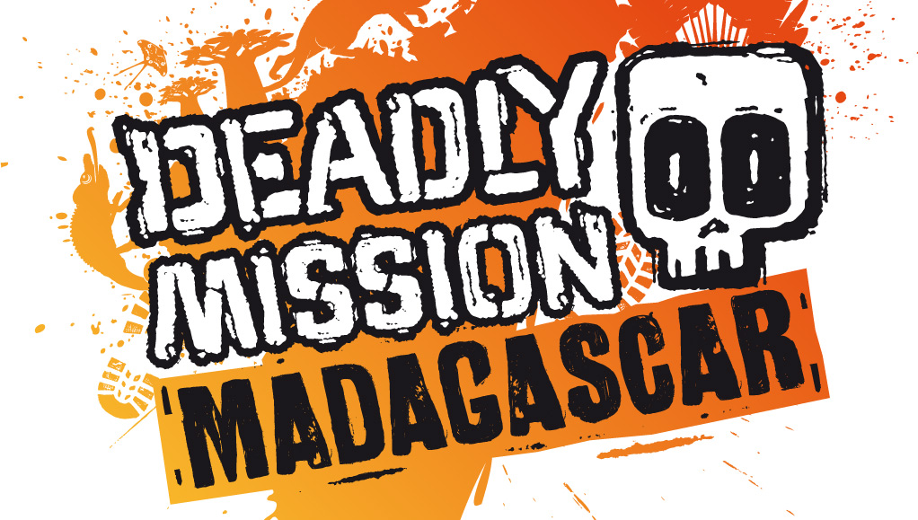 The Deadly Mission Madagascar logo.