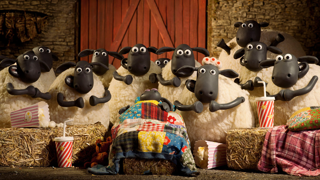 Sheep Stars from Shaun the Sheep!