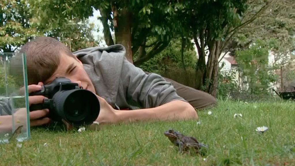 Josh with his camera