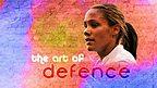 England's star defender Alex Scott