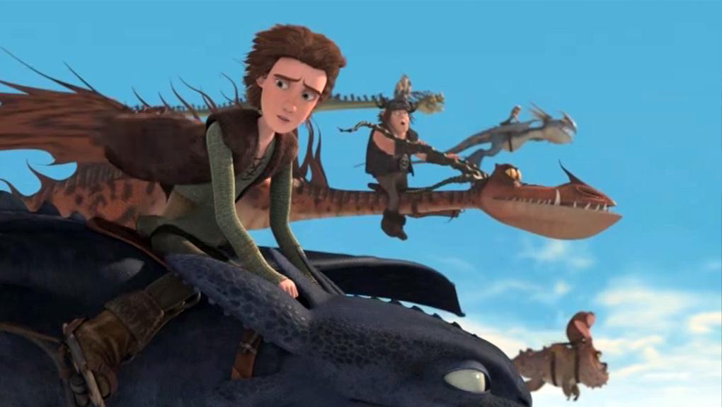 Dragons - Riders of Berk