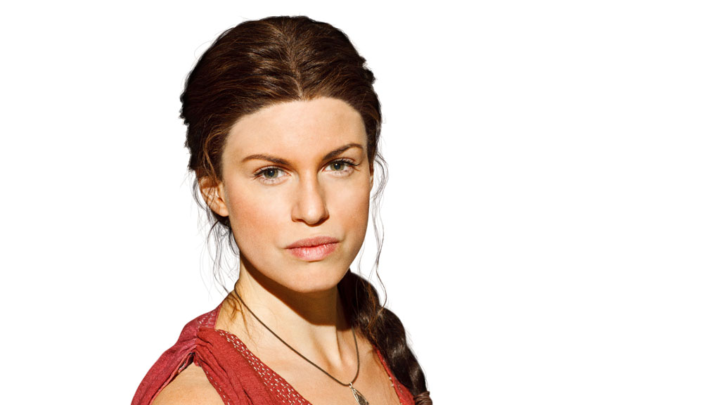 Jemima Rooper who plays Medusa in Atlantis