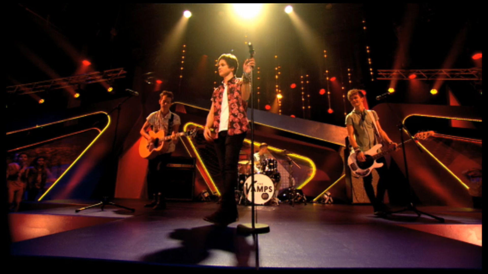 The Vamps performing on Friday Download.