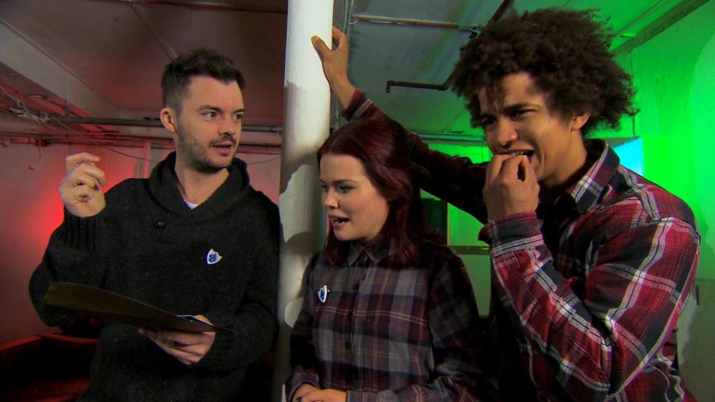 Barney, Lindsey and Radzi