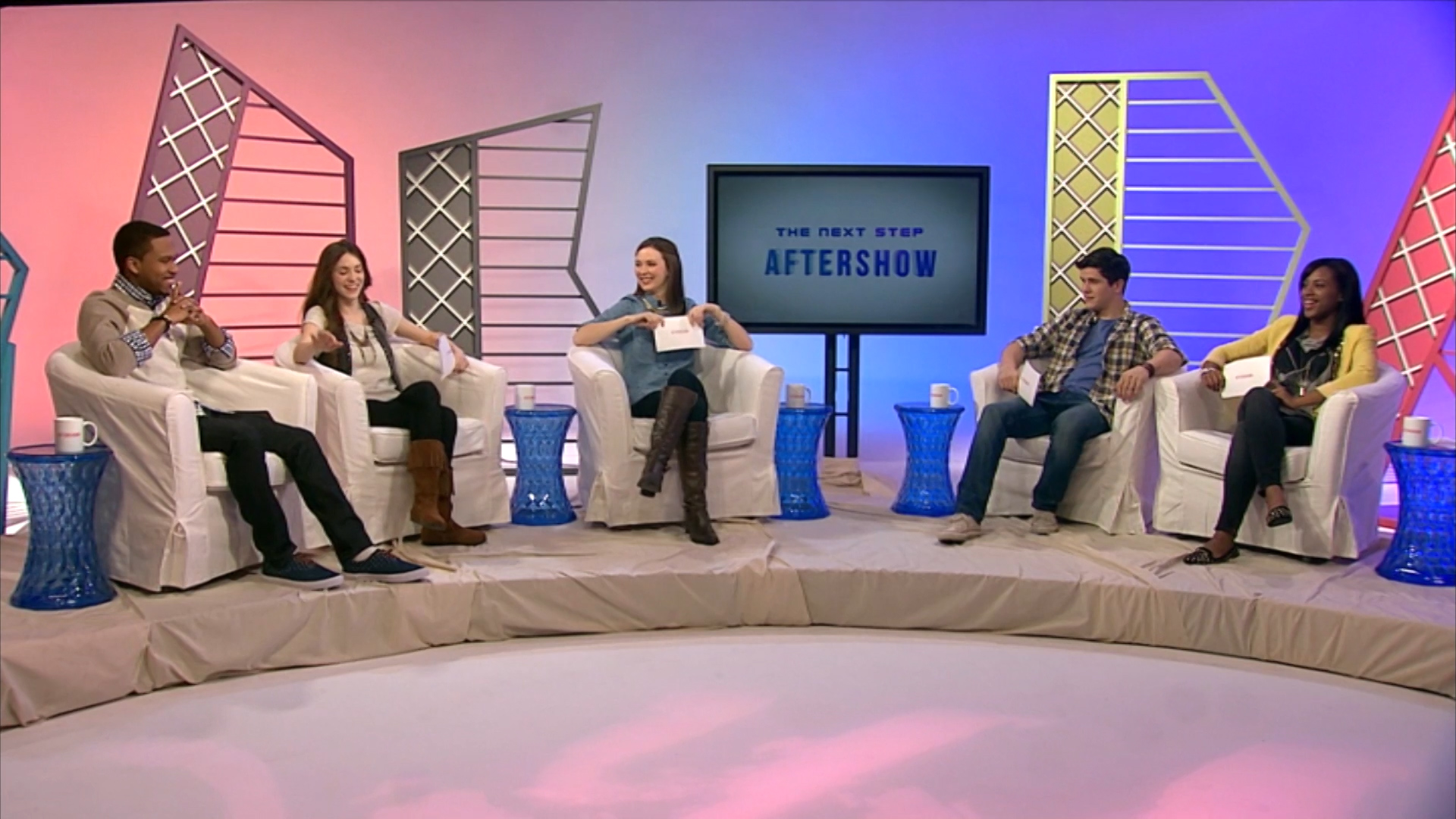 The Next Step Aftershow Panel.