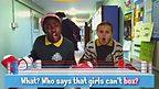 Girls Can't Box - Rap Along