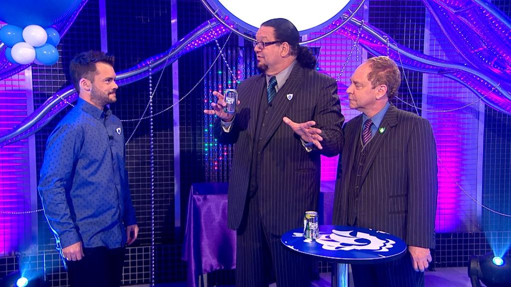 Barney and Penn and Teller