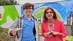 Lauren & Myles at CBBC Live