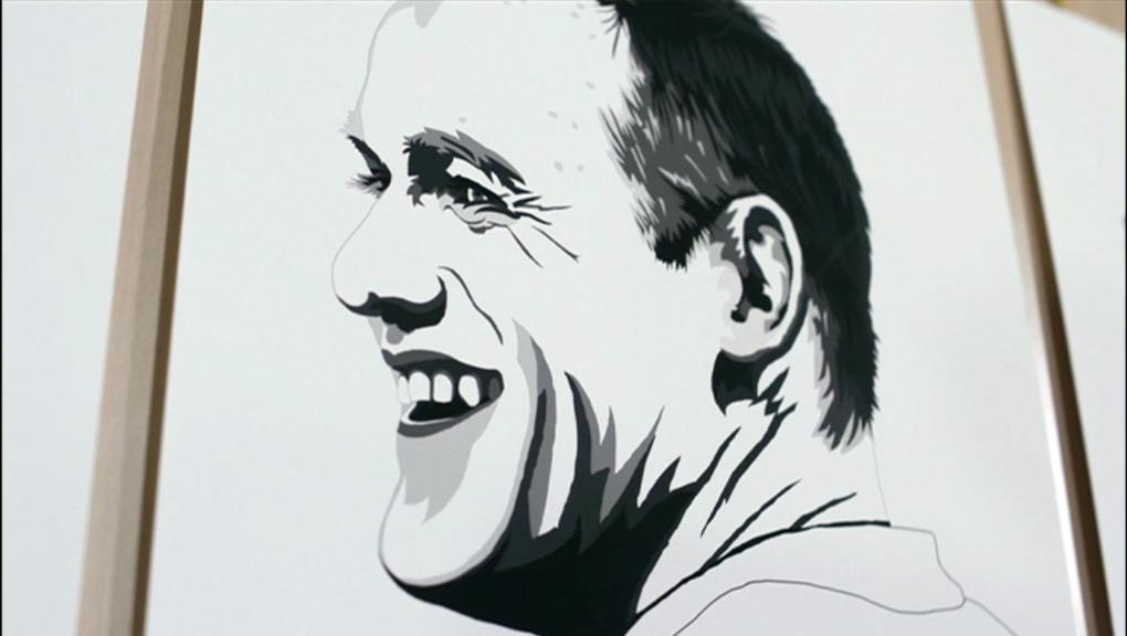 A portrait of Wayne Rooney.