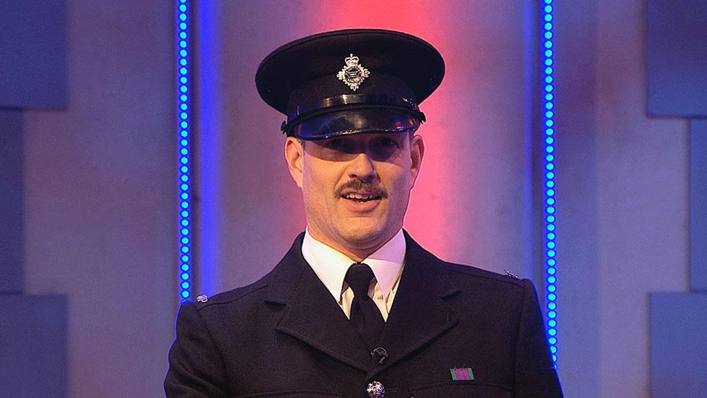 Officer Burgess from The Slammer Returns.