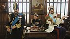 King George V, Tsar Nicolas II and Kaiser Wilhelm II.