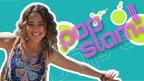 Amberley Lobo and the Pop Slam! logo.