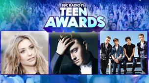 Cel, next to a 'Teen Awards' logo.