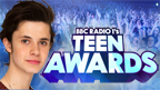 Richard Wisker and Cel Spellman with a Teen Awards logo