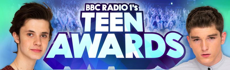 Cel and a Teen Awards logo.