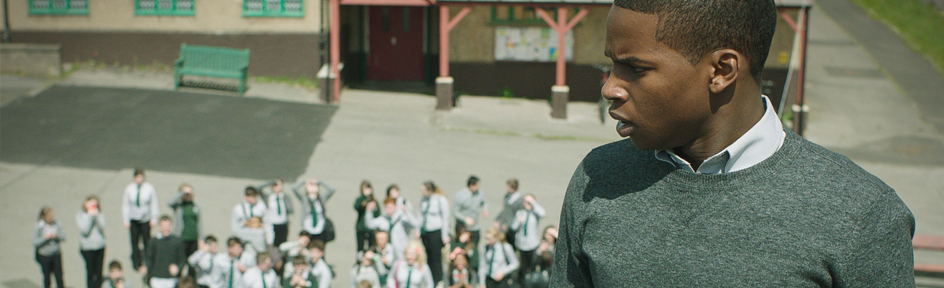 Tom and Rhydian argue, Wolfblood.