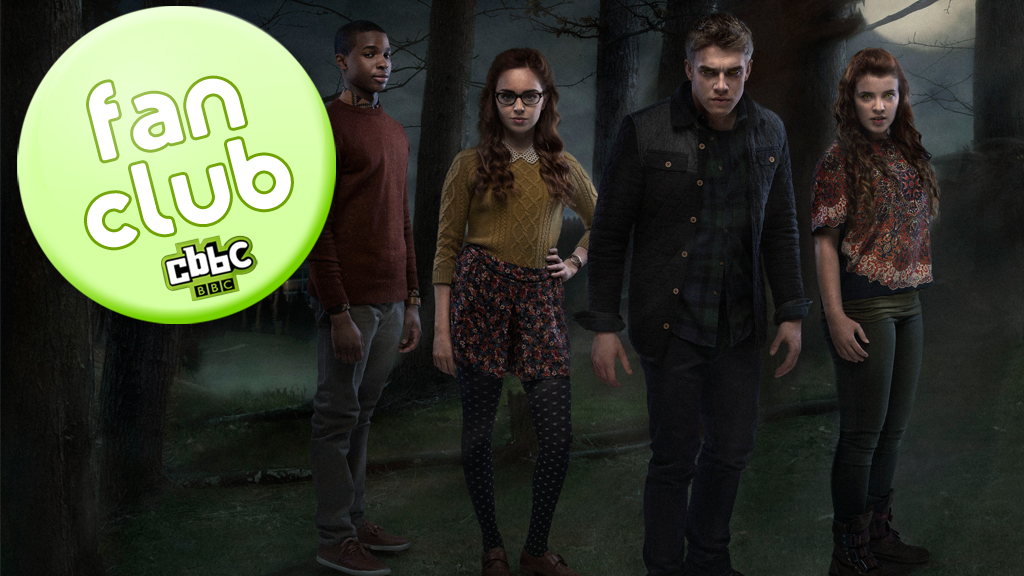 Cerys' Wolfblood fan club banner.