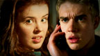 Jana and Rhydian from Wolfblood.