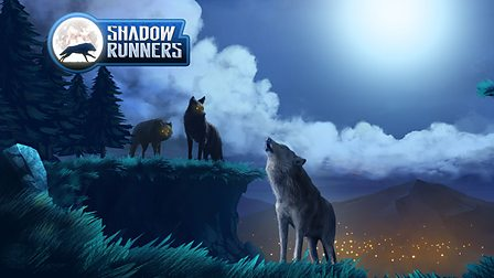 Wolfblood Shadow runners background and characters